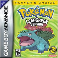 Caratula de Pokémon: LeafGreen [Player's Choice] para Game Boy Advance