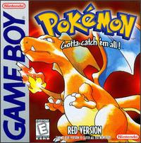 Caratula de Pokémon: Red Version para Game Boy