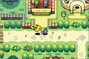 Pantallazo de Pokémon Mystery Dungeon: Red Rescue Team para Game Boy Advance