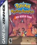 Carátula de Pokémon Mystery Dungeon: Red Rescue Team
