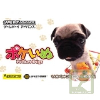 Caratula de Poke Inu - Pocket Dogs (Japonés) para Game Boy Advance