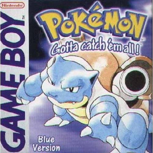 Caratula de Pokemon Blue para Game Boy
