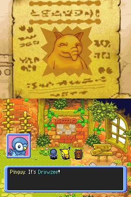 Pantallazo de Pokemon Mystery Dungeon: Explorers of Time para Nintendo DS