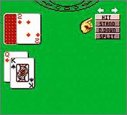 Pantallazo de Poker Face Paul's Blackjack para Gamegear