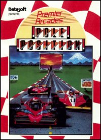Caratula de Pole Position para Commodore 64