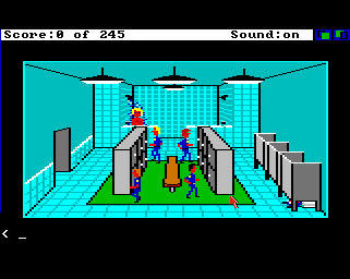 Pantallazo de Police Quest: In Pursuit Of The Death Angel para Amiga