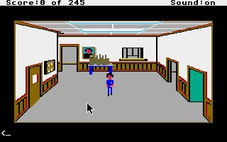 Pantallazo de Police Quest: In Pursuit of the Death Angel para Atari ST