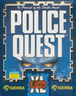 Caratula de Police Quest: In Pursuit of the Death Angel para Atari ST