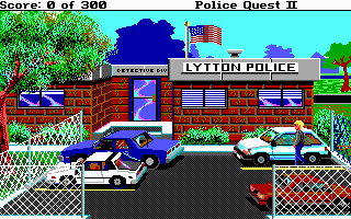 Pantallazo de Police Quest 2: The Vengeance para PC