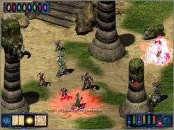 Pantallazo de Pool of Radiance: Ruins of Myth Drannor para PC