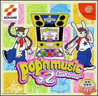 Caratula de Pop\'n Music 2 para Dreamcast