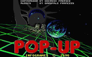 Pantallazo de Pop Up para Atari ST