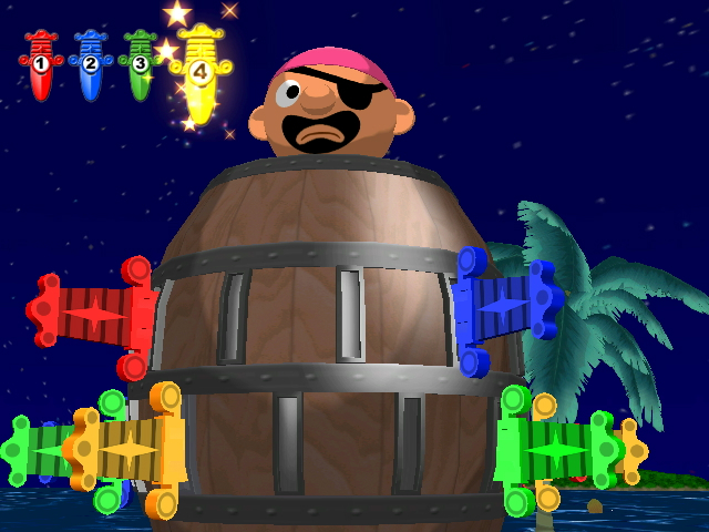 Pantallazo de Pop-Up Pirate! (Wii Ware) para Wii