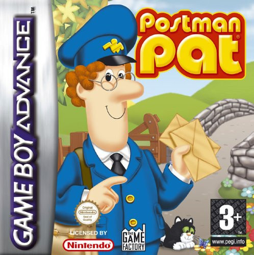 Caratula de Postman Pat para Game Boy Advance