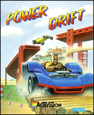Caratula de Power Drift para Commodore 64