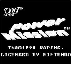 Pantallazo de Power Mission para Game Boy