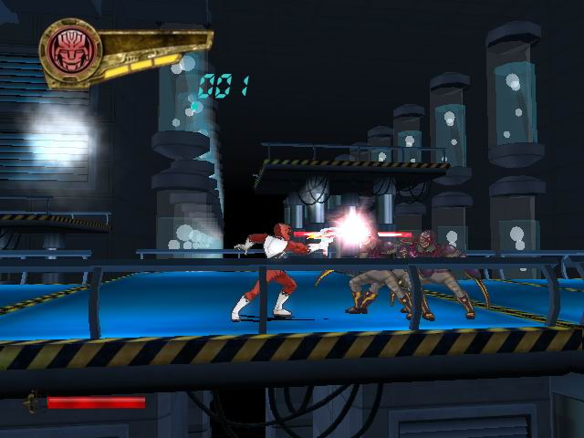 Pantallazo de Power Rangers: Super Legends para PlayStation 2