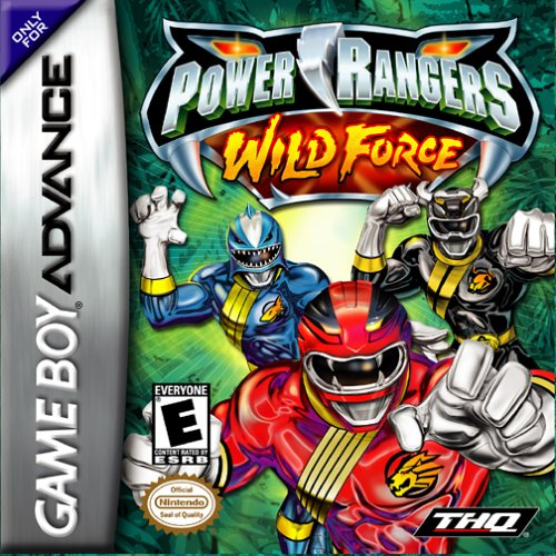 Caratula de Power Rangers: Wild Force para Game Boy Advance