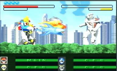 Pantallazo de Power Rangers: Wild Force para Game Boy Advance