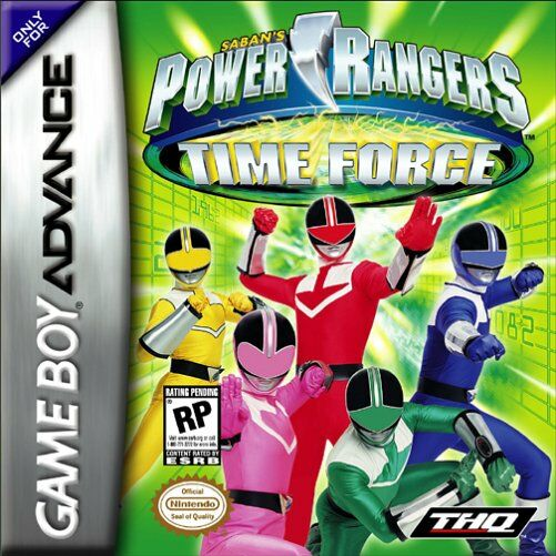 Caratula de Power Rangers Time Force para Game Boy Advance