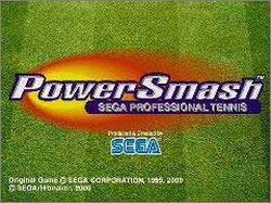 Pantallazo de Power Smash: Sega Professional Tennis (Japonés) para PC