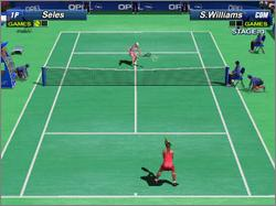 Pantallazo de Power Smash 2: Sega Professional Tennis para Dreamcast