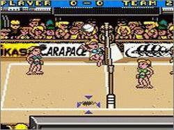 Pantallazo de Power Spike Pro Beach Volleyball para Game Boy Color