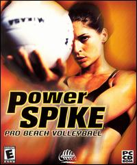 Caratula de Power Spike Pro Beach Volleyball para PC