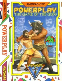 Caratula de Powerplay: The Game Of The Gods para Amstrad CPC