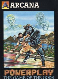 Caratula de Powerplay: The Game of the Gods para Atari ST