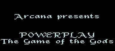 Pantallazo de Powerplay: The Game of the Gods para Atari ST