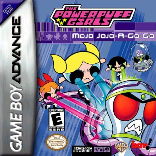 Caratula de Powerpuff Girls: Mojo Jojo A-Go-Go, The para Game Boy Advance