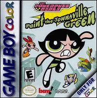 Caratula de Powerpuff Girls: Paint the Townsville Green, The para Game Boy Color