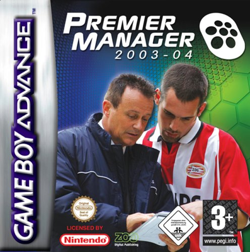 Caratula de Premier Manager 2003-04 para Game Boy Advance