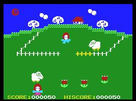 Pantallazo de Pretty Sheep para MSX