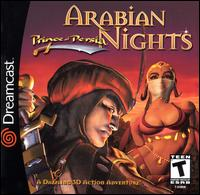 Caratula de Prince of Persia: Arabian Nights para Dreamcast