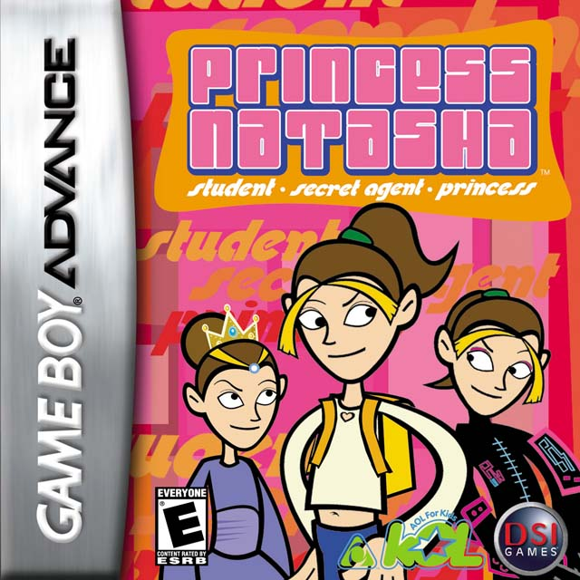 Caratula de Princess Natasha: Student Secret Agent para Game Boy Advance