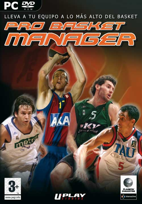 Caratula de Pro Basket Manager para PC