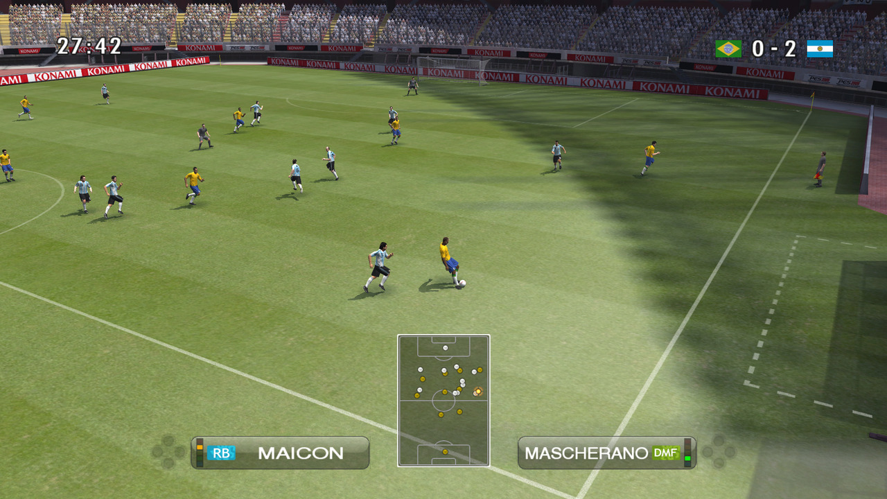 Pantallazo de Pro Evolution Soccer 2009 para PC