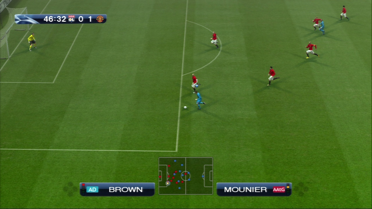 Pantallazo de Pro Evolution Soccer 2009 para PlayStation 3