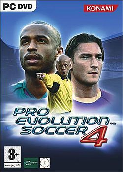 Caratula de Pro Evolution Soccer 4 para PC