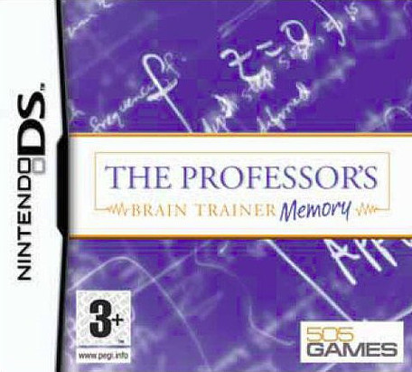 Caratula de Professor's Brain Trainer: Memory, The para Nintendo DS