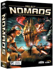 Caratula de Project Nomads para PC