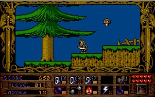 Pantallazo de Prophecy I: The Viking Child para Atari ST