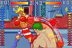 Pantallazo de Punch King para Game Boy Advance