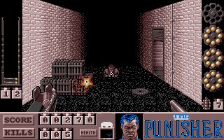 Pantallazo de Punisher, The para Atari ST