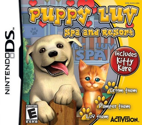 Caratula de Puppy Luv: Animal Tycoon para Nintendo DS