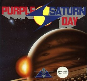 Caratula de Purple Saturn Day para Spectrum