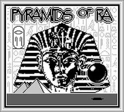 Pantallazo de Pyramids of Ra para Game Boy