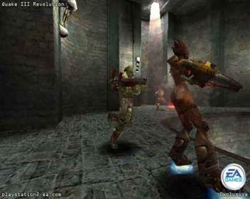 Pantallazo de Quake III Revolution para PlayStation 2